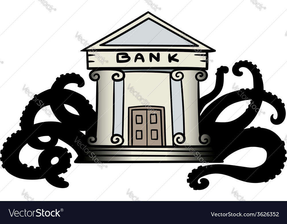 Evil bank vector | Price: 1 Credit (USD $1)