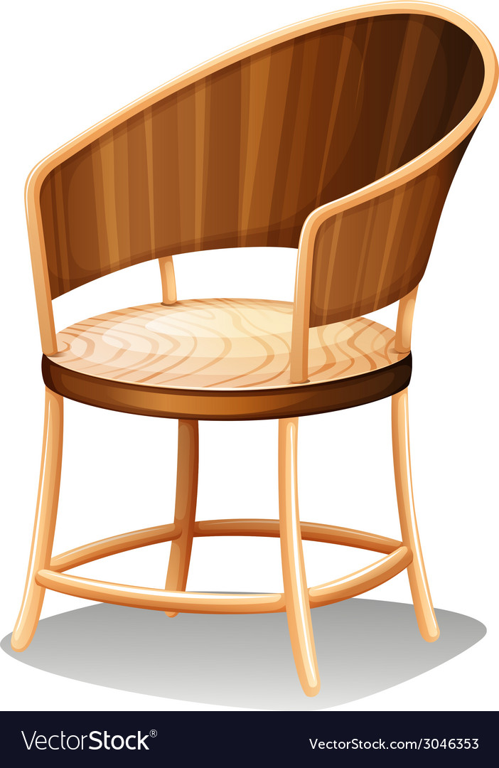A smooth brown furniture vector | Price: 1 Credit (USD $1)