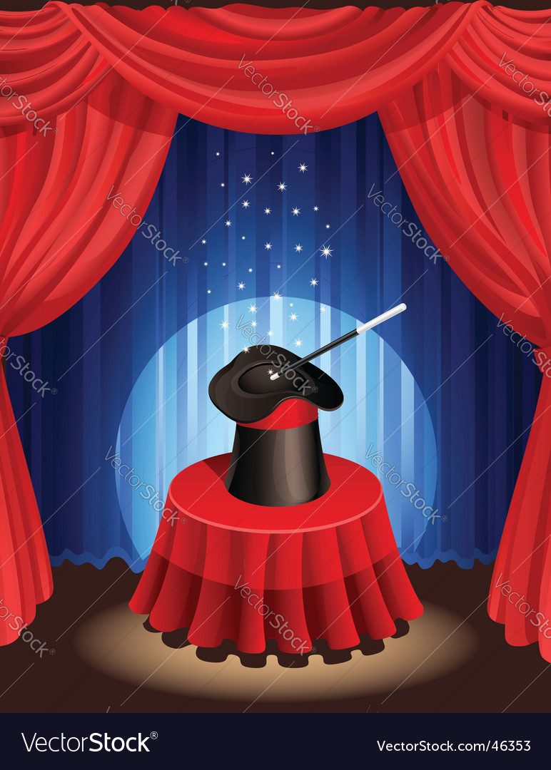 Magic show vector | Price: 1 Credit (USD $1)