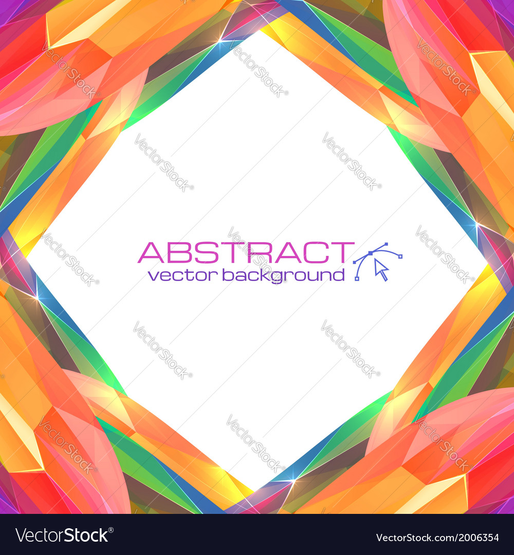 Abstract mottled frame vector | Price: 1 Credit (USD $1)