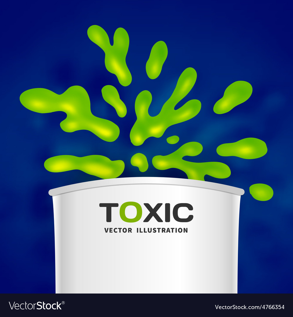 Abstract toxic color splash background vector | Price: 1 Credit (USD $1)