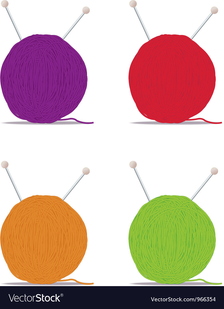 Ball of yarn vector | Price: 1 Credit (USD $1)