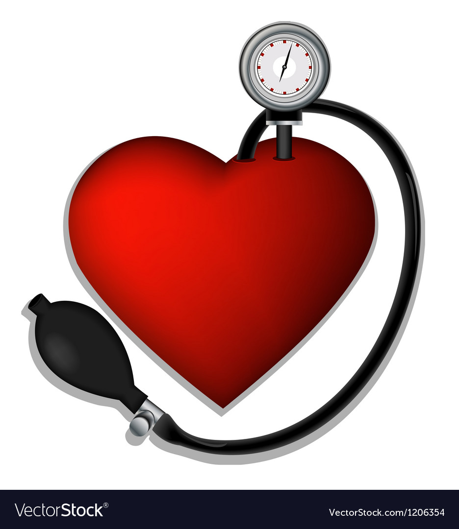 Heart pressure vector | Price: 1 Credit (USD $1)