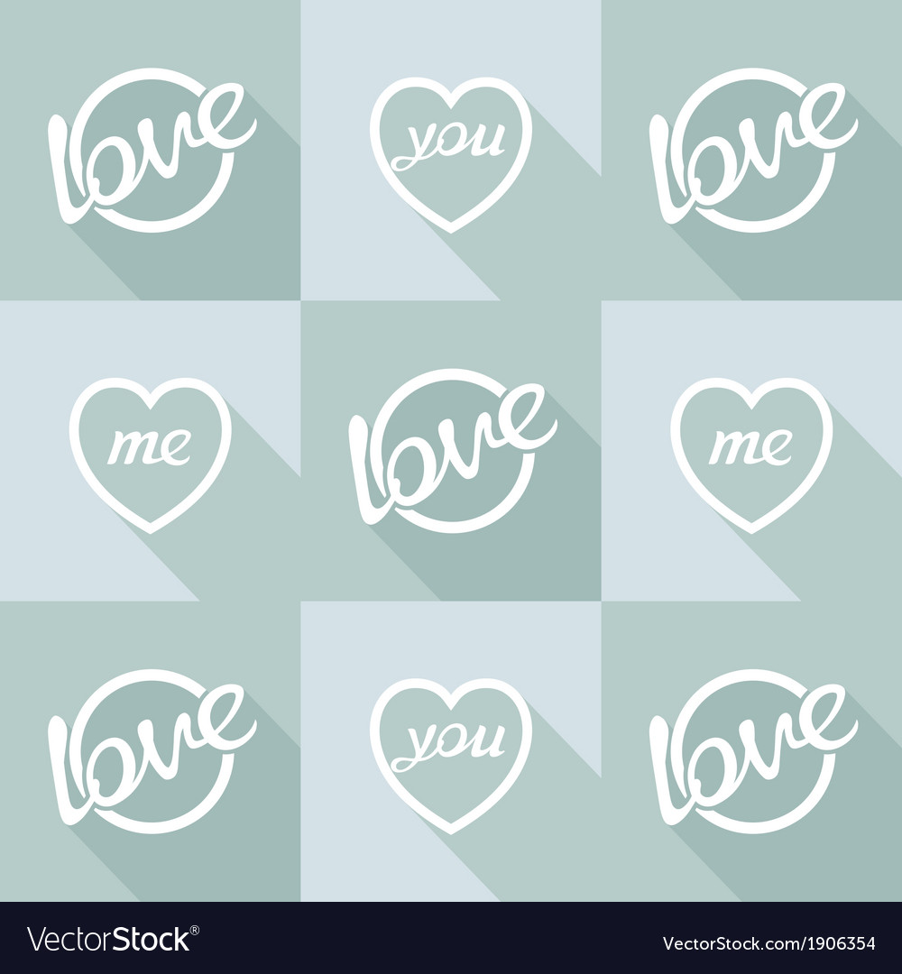 Pop-art style card symbol of love vector | Price: 1 Credit (USD $1)