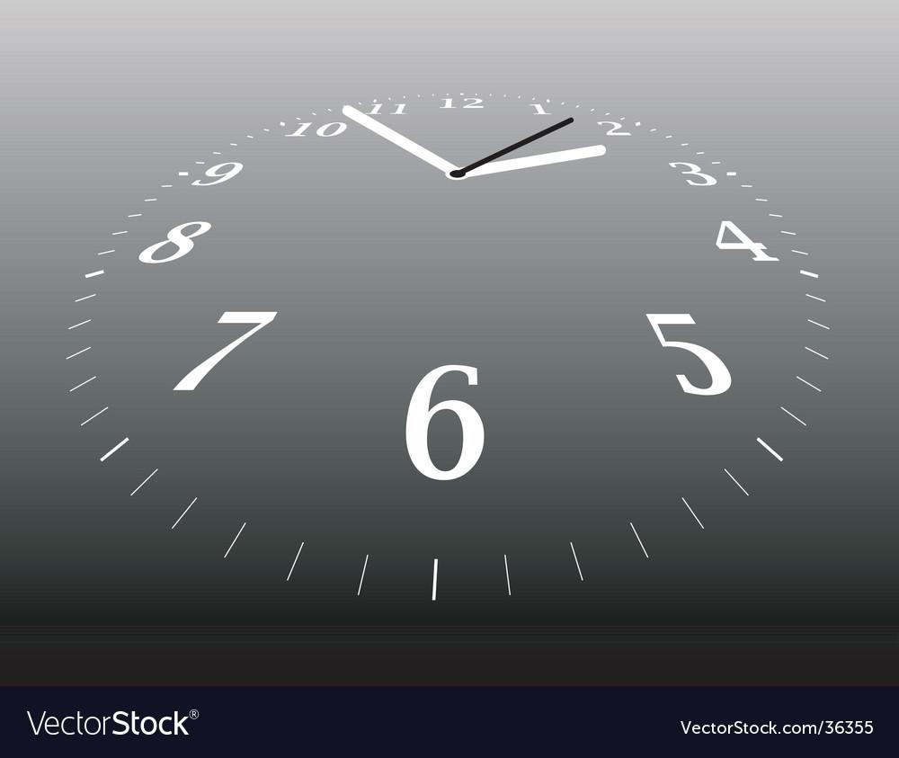 Clock distant vector | Price: 1 Credit (USD $1)