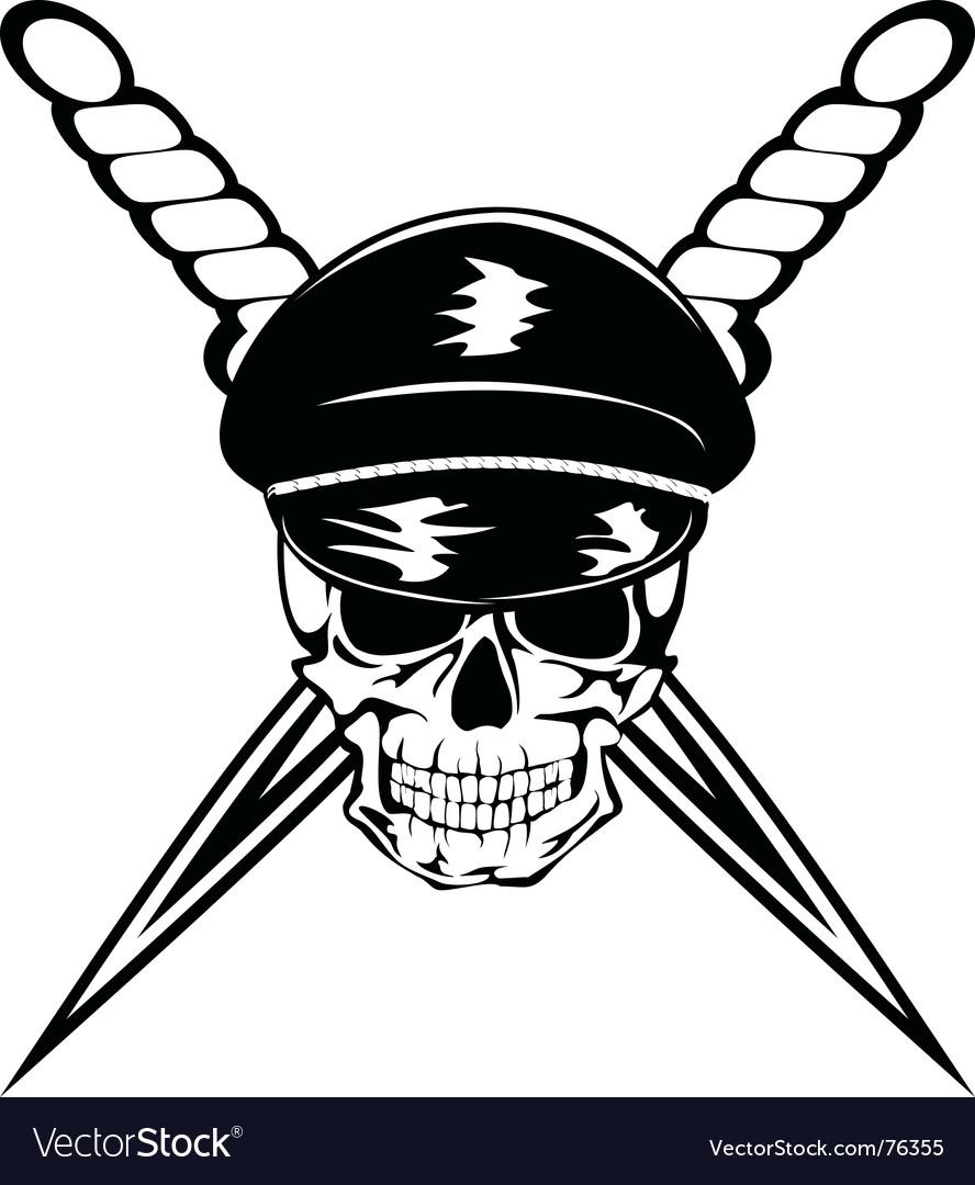 Skull and dagger vector   Price: 1 Credit (USD $1)
