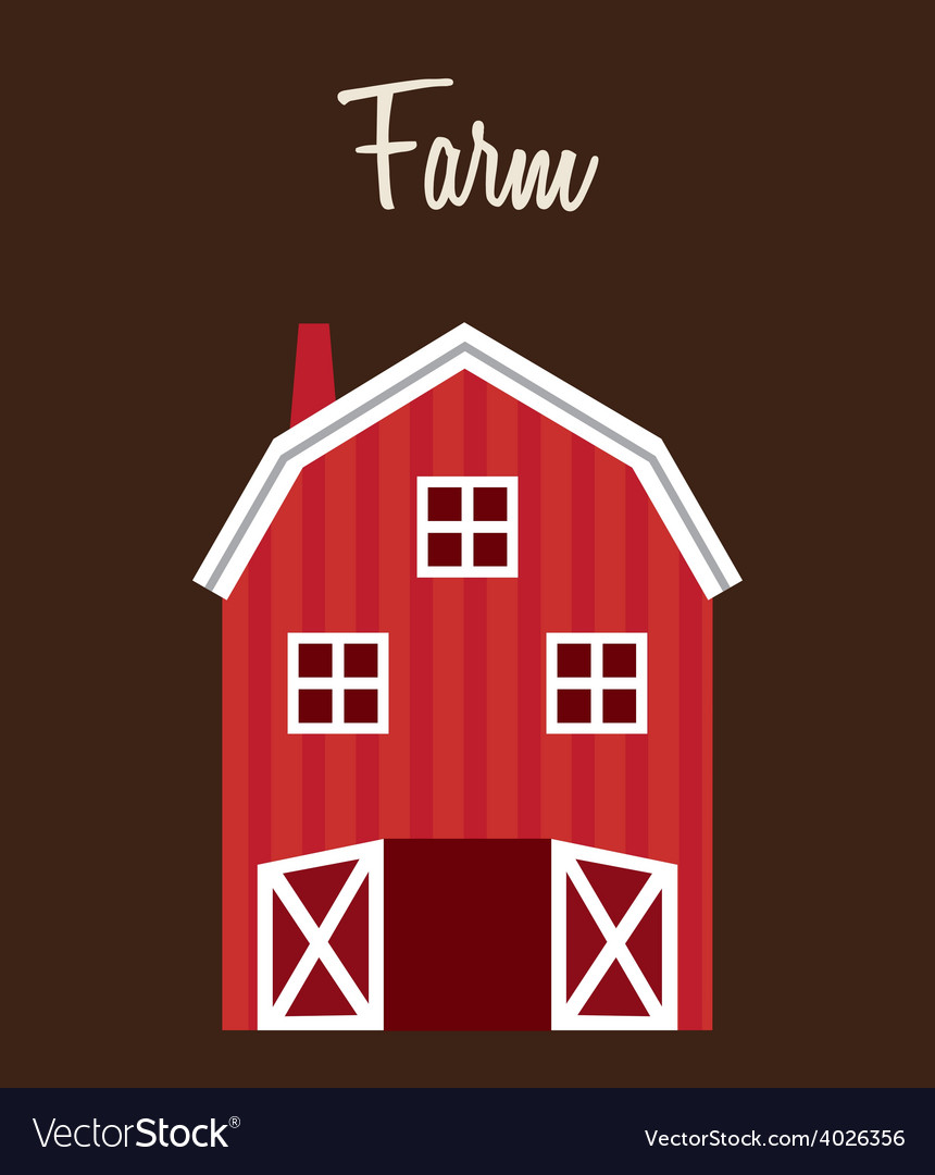 Farm stable vector | Price: 1 Credit (USD $1)