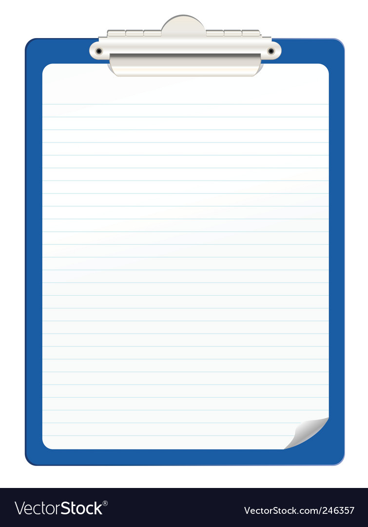 Clipboard vector | Price: 1 Credit (USD $1)