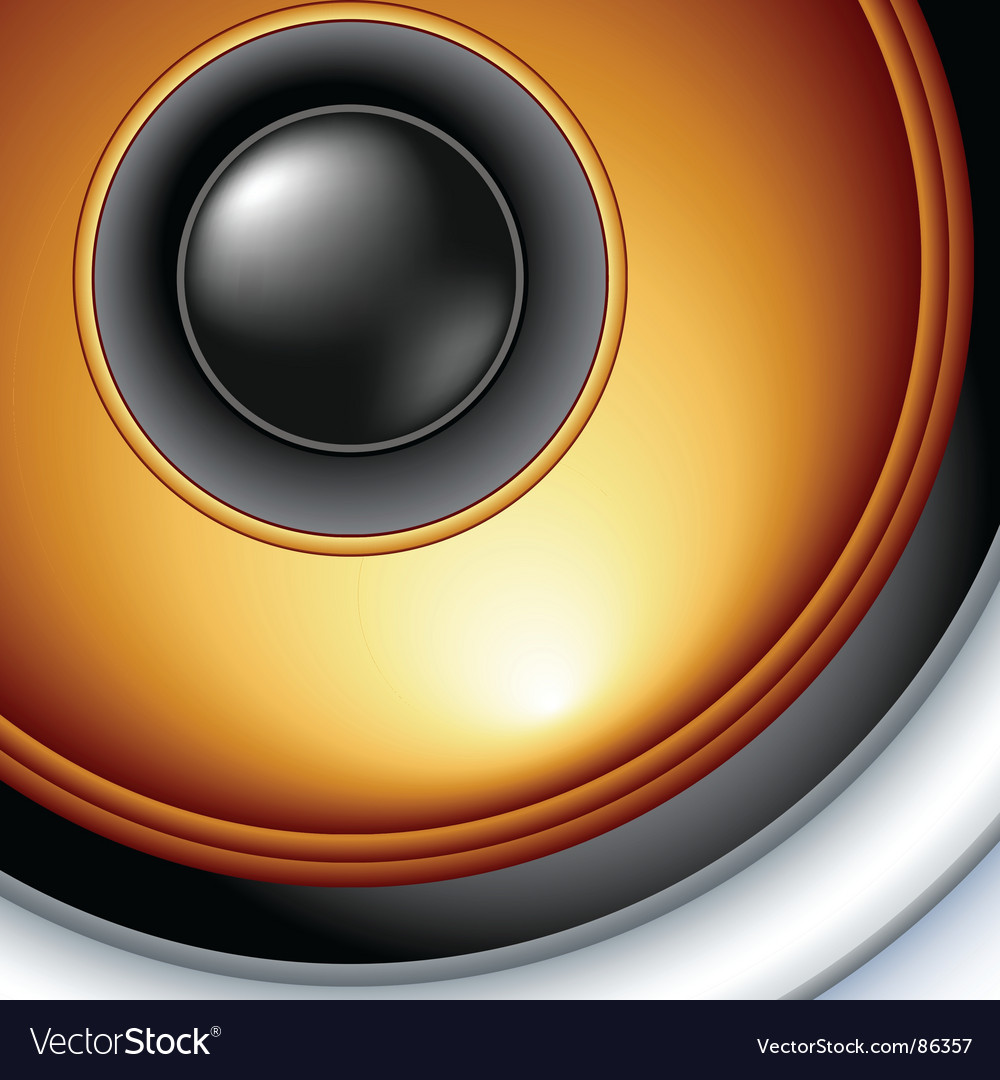 Speaker detailed vector | Price: 1 Credit (USD $1)