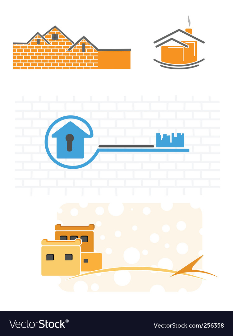 Simple illustrations of the building vector | Price: 1 Credit (USD $1)