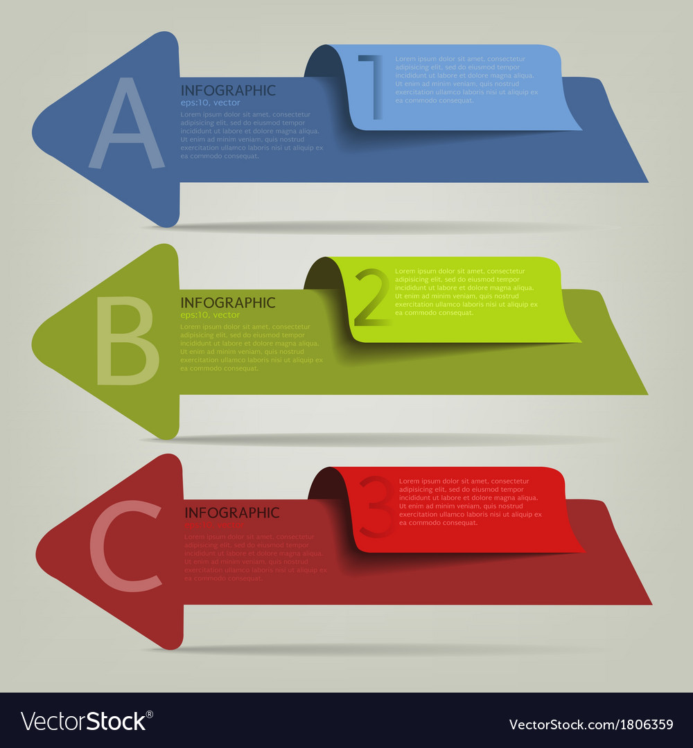 002 2infographic plan arrow vector | Price: 1 Credit (USD $1)