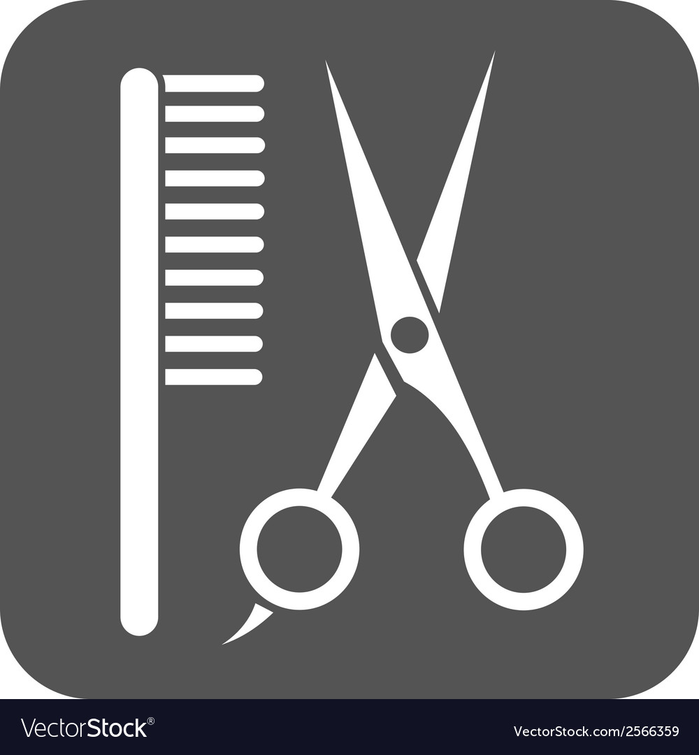 Barbershop icon vector | Price: 1 Credit (USD $1)