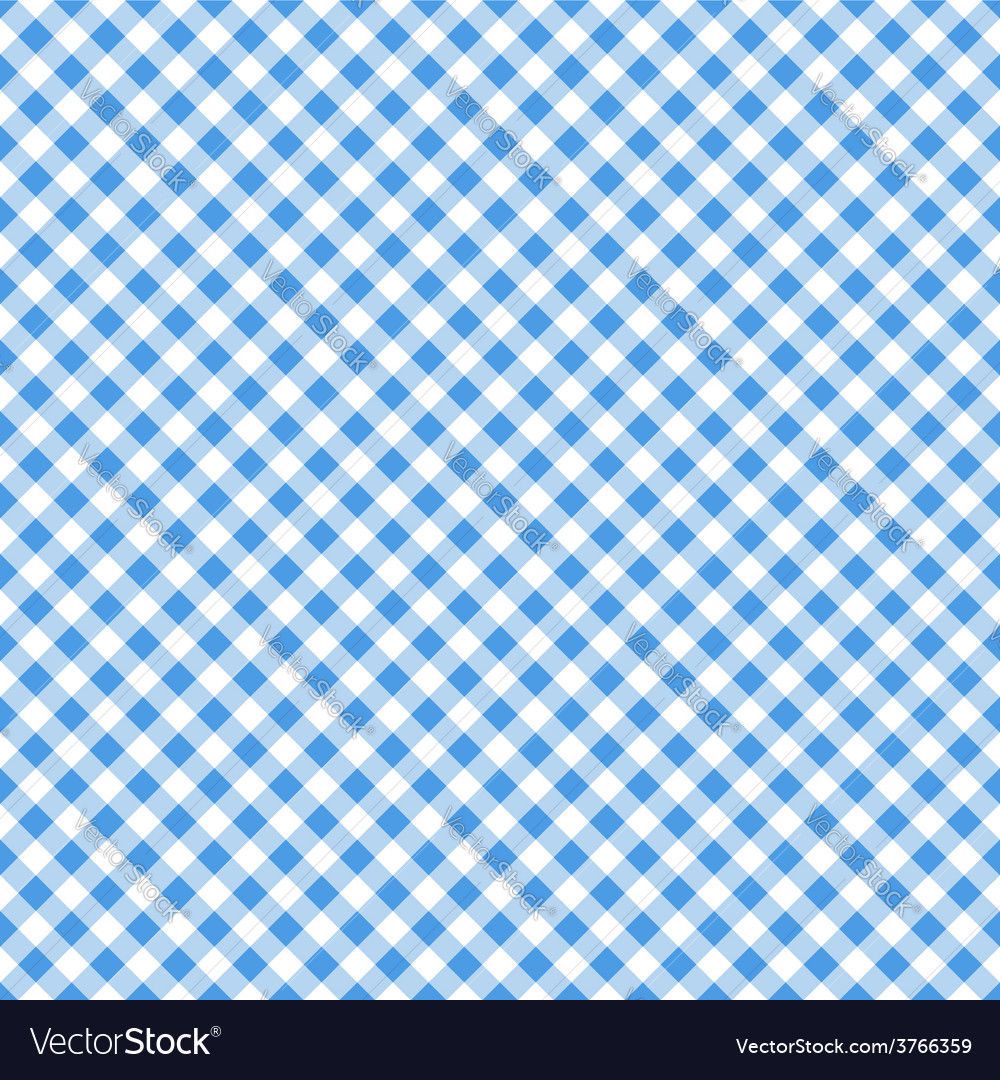 Blue table cloth seamless pattern vector | Price: 1 Credit (USD $1)