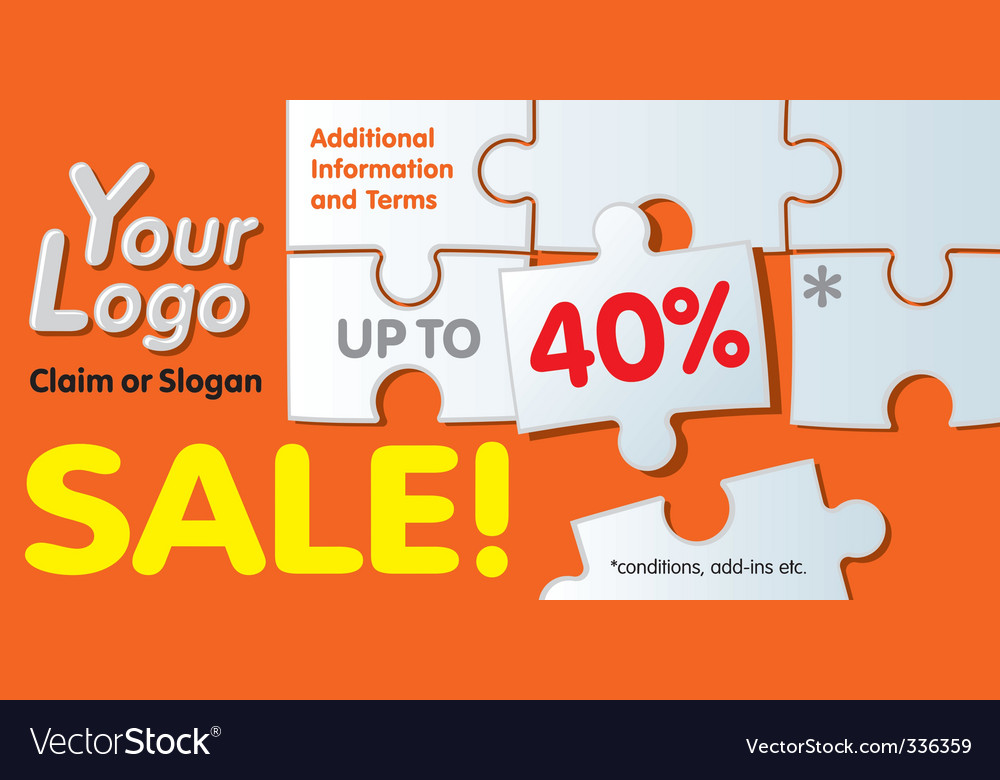 Discount coupon vector | Price: 1 Credit (USD $1)
