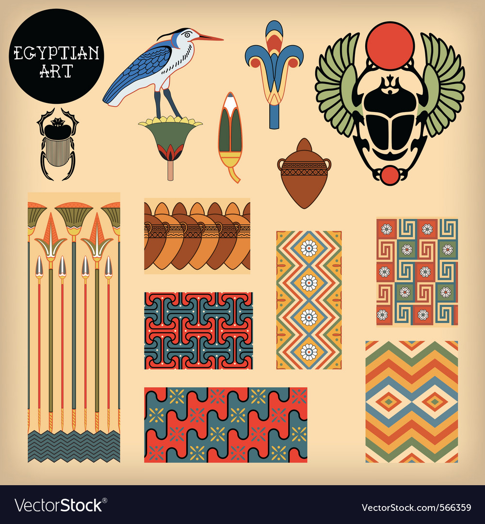 Egyptian art vector | Price: 1 Credit (USD $1)