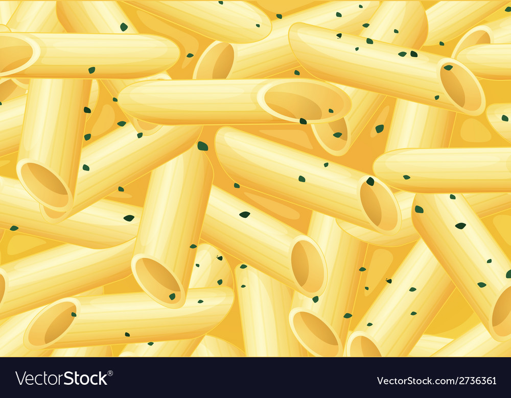 A pasta meal vector | Price: 1 Credit (USD $1)