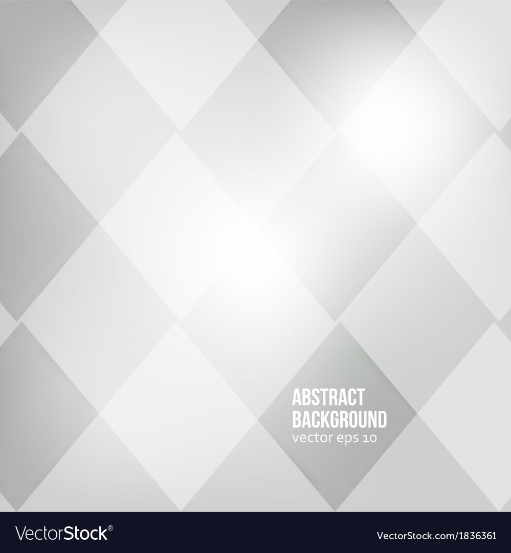 Abstract background squares white vector | Price: 1 Credit (USD $1)