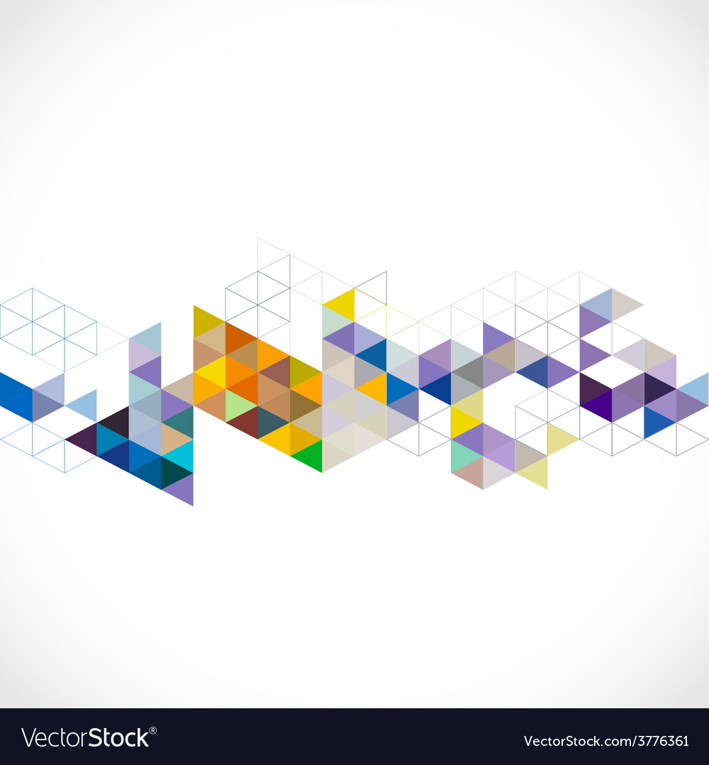 Abstract colorful modern geometric template vector | Price: 1 Credit (USD $1)