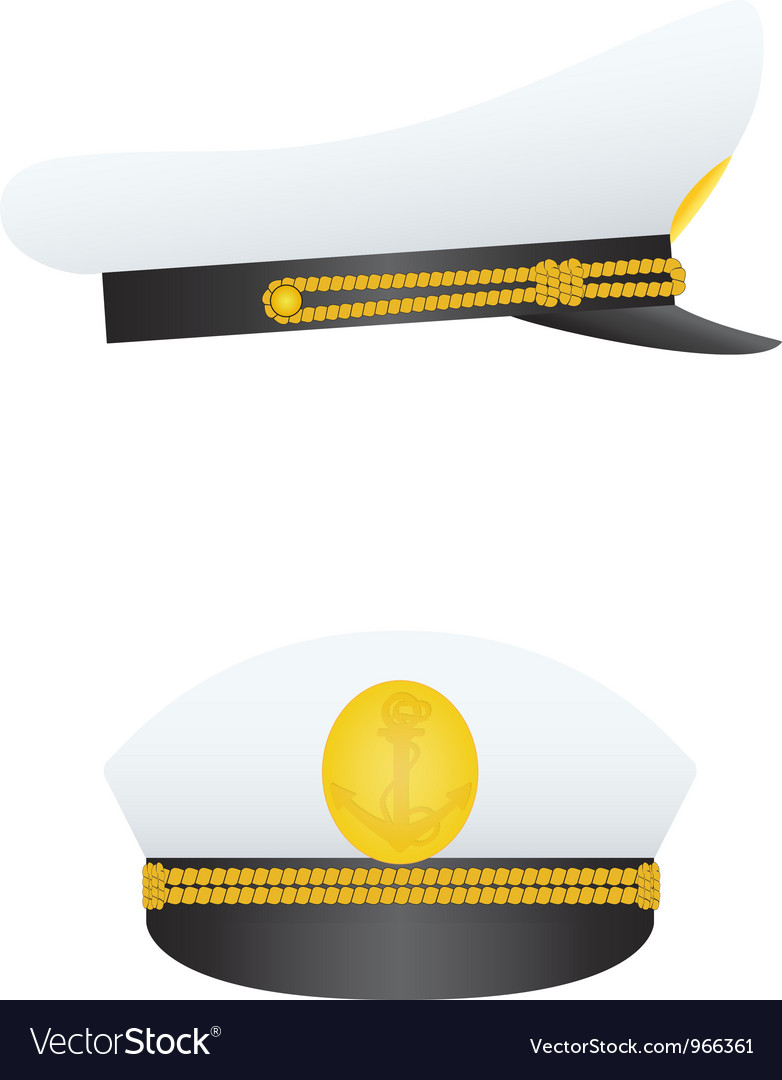 Captain hat vector | Price: 1 Credit (USD $1)