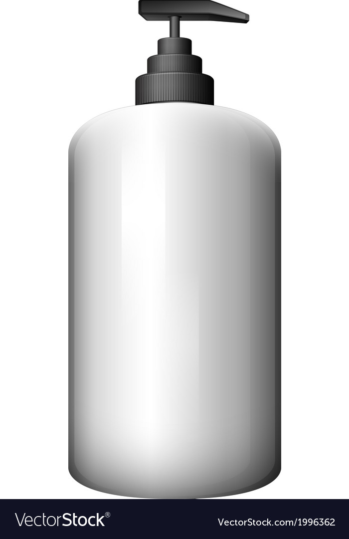 A pump-style bottle vector | Price: 1 Credit (USD $1)