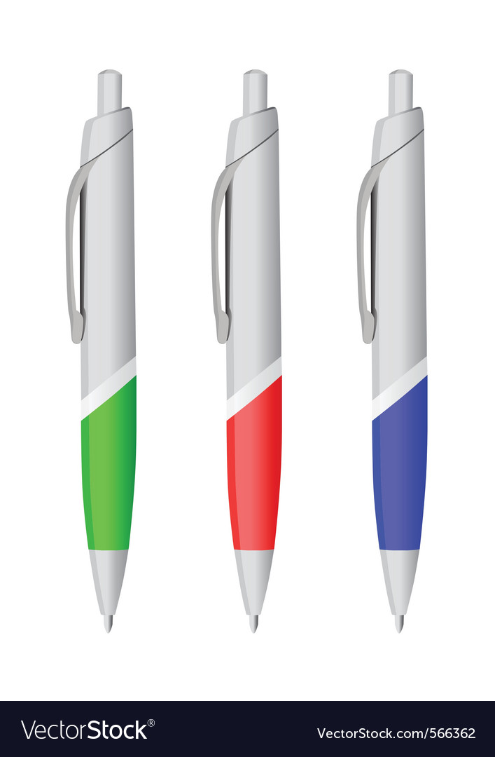 Ballpoint pen vector | Price: 1 Credit (USD $1)