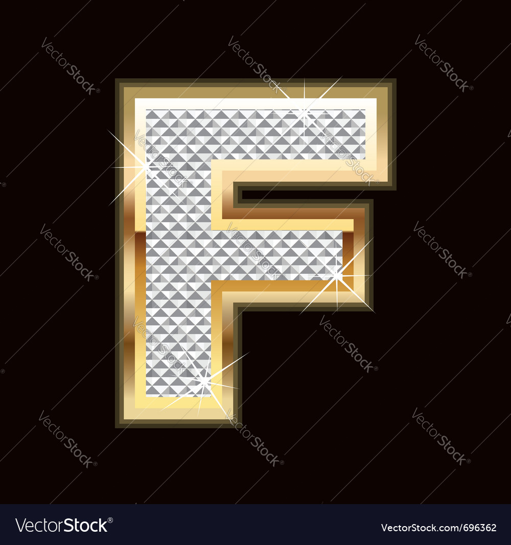 F bling bling vector | Price: 1 Credit (USD $1)
