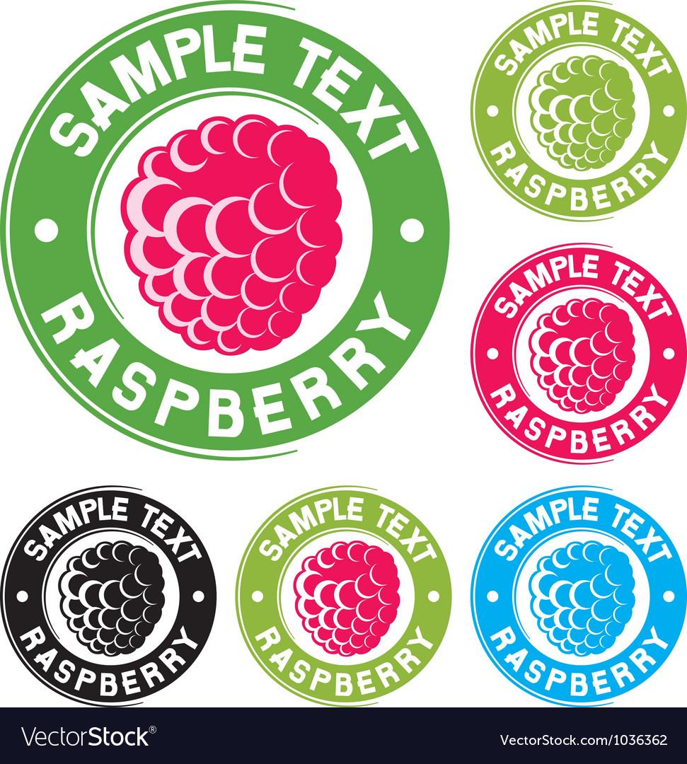 Raspberry icon vector | Price: 1 Credit (USD $1)