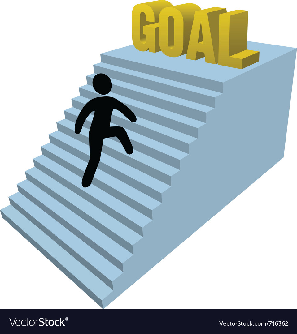 Success goal vector | Price: 1 Credit (USD $1)