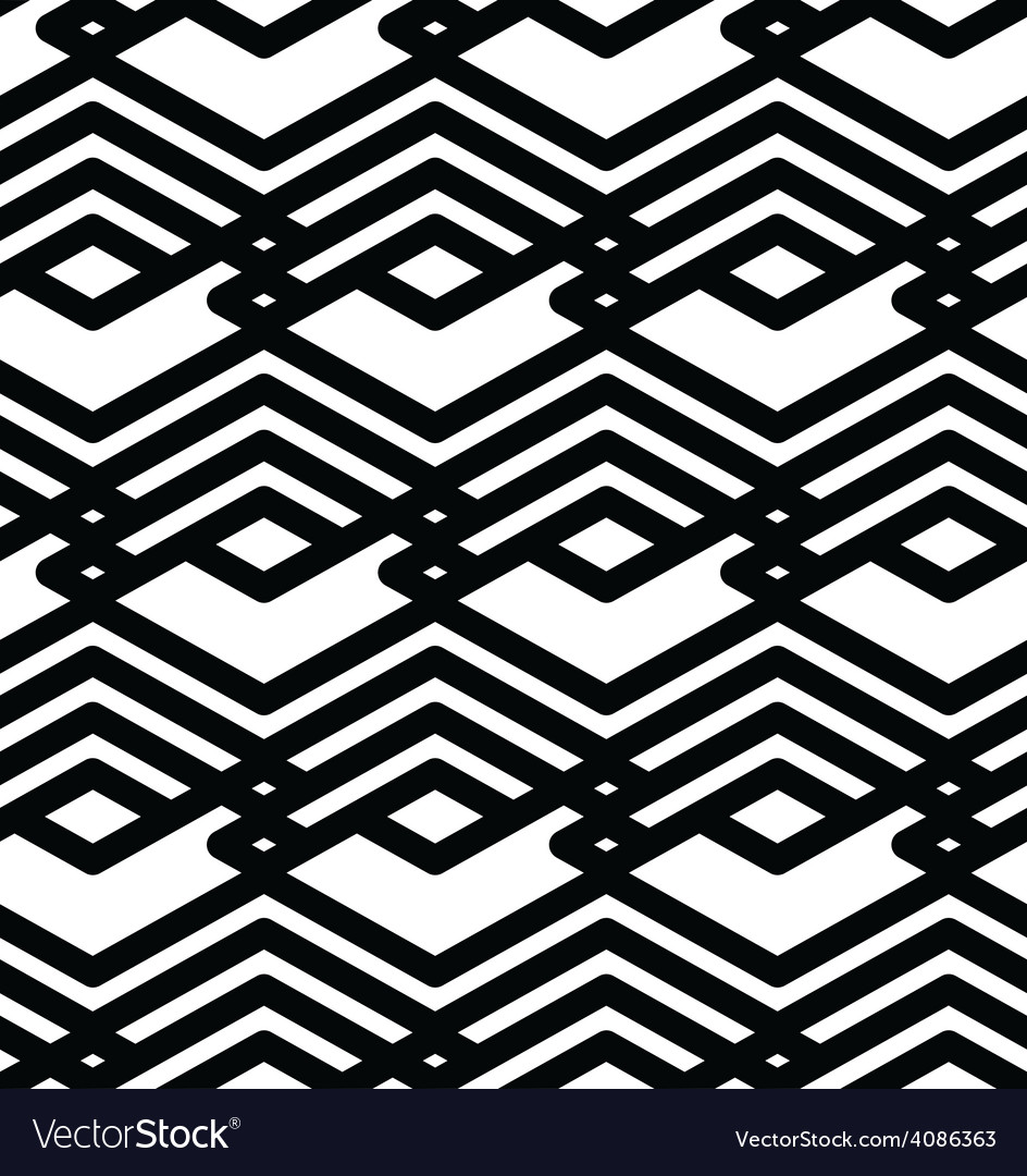 Black and white abstract ornament geometric vector   Price: 1 Credit (USD $1)