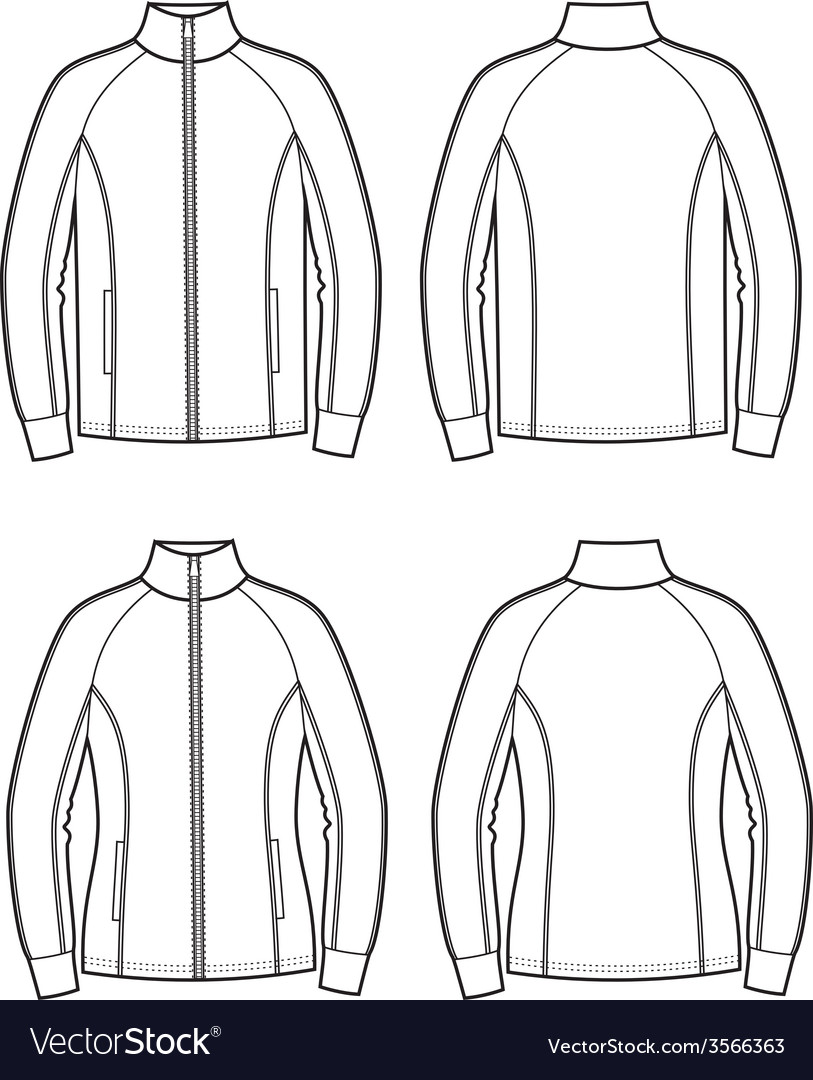 Sport jacket vector | Price: 1 Credit (USD $1)