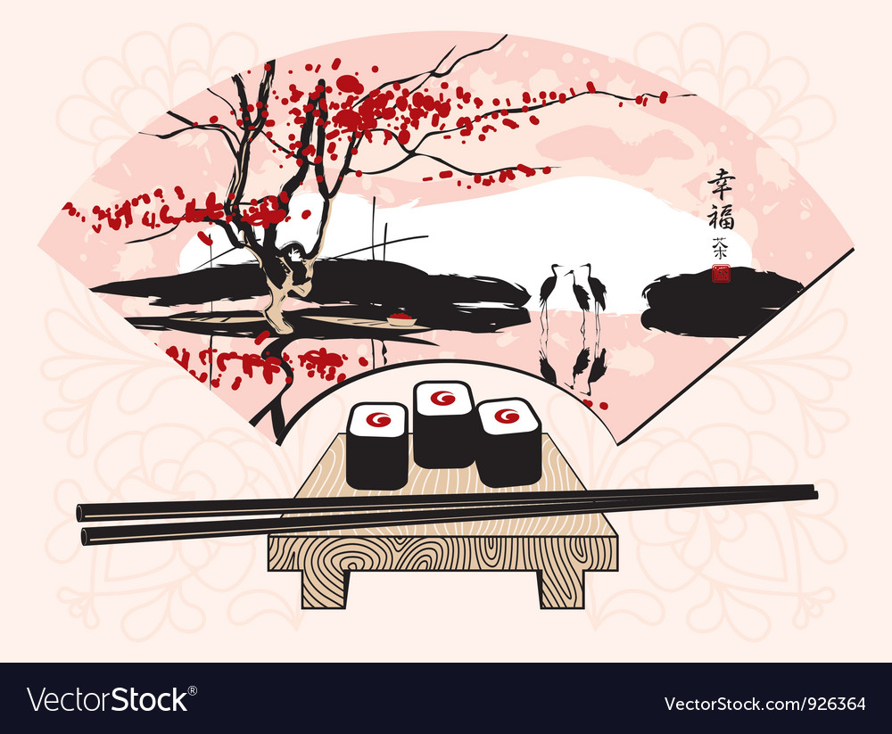 Ceremony sushi vector | Price: 3 Credit (USD $3)
