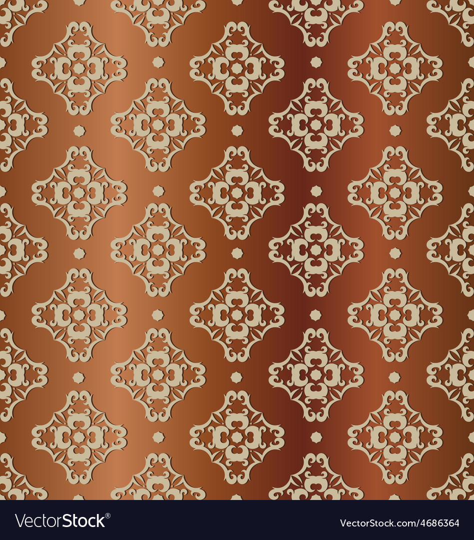 Seamless pattern tile background vector | Price: 1 Credit (USD $1)