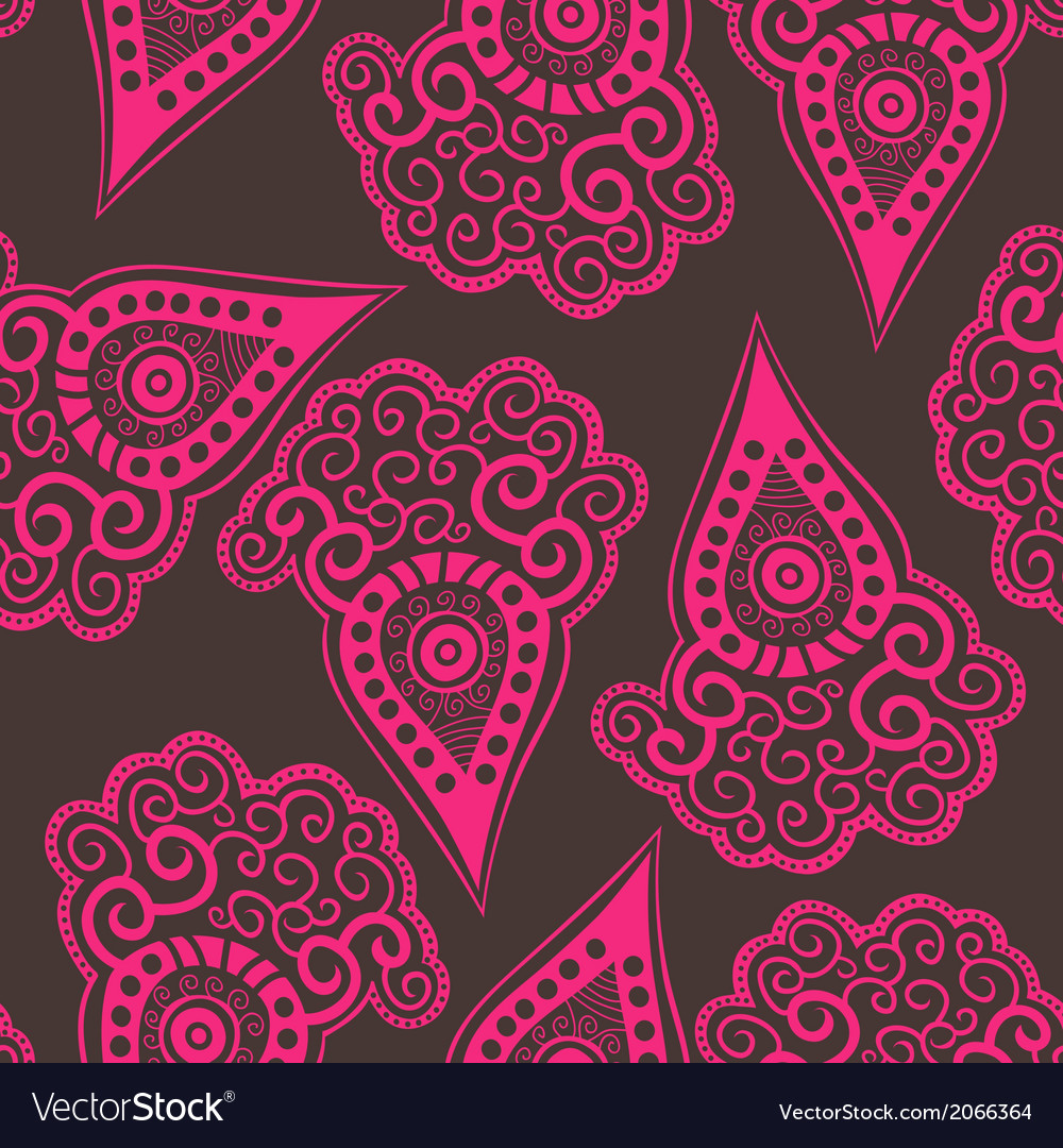 Seamless pattern with stylized carrot vector   Price: 1 Credit (USD $1)