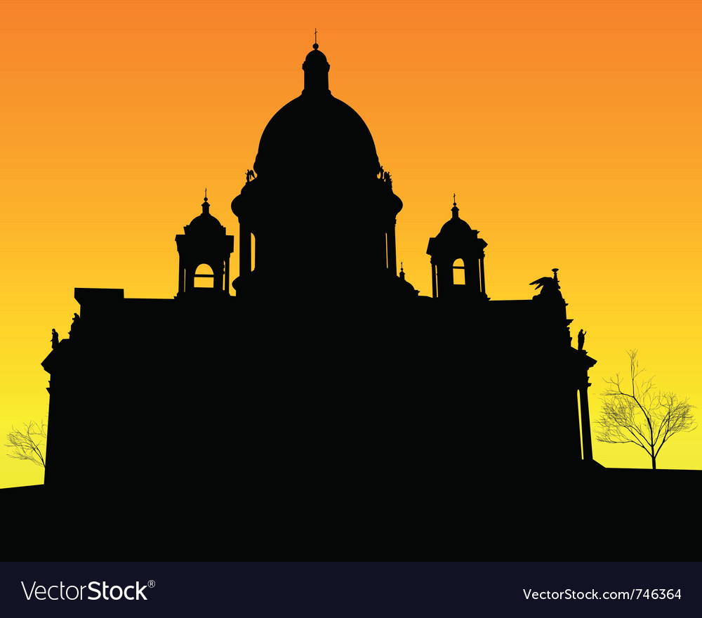 St isaacs cathedral vector | Price: 1 Credit (USD $1)