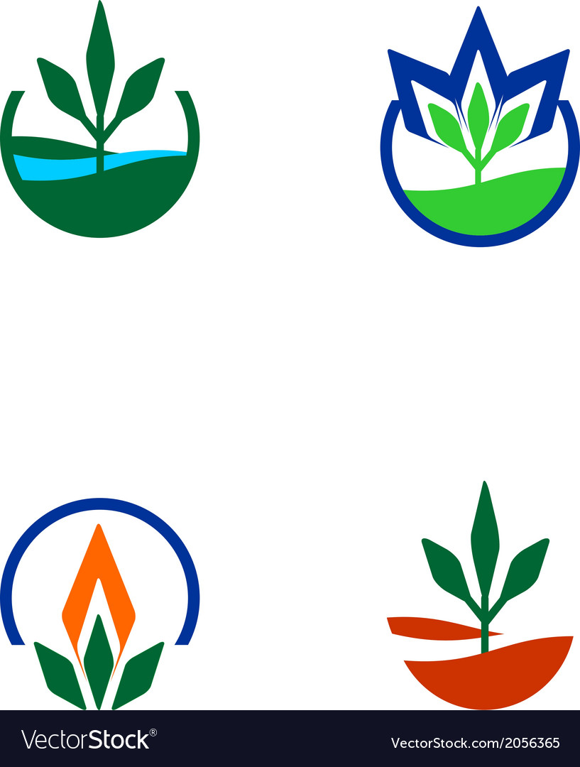 Organic and welfare logo vector | Price: 1 Credit (USD $1)
