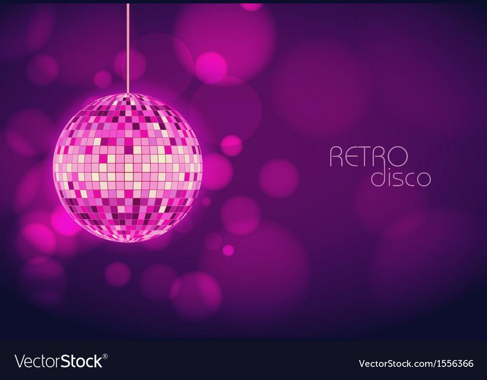 Disco background vector | Price: 1 Credit (USD $1)