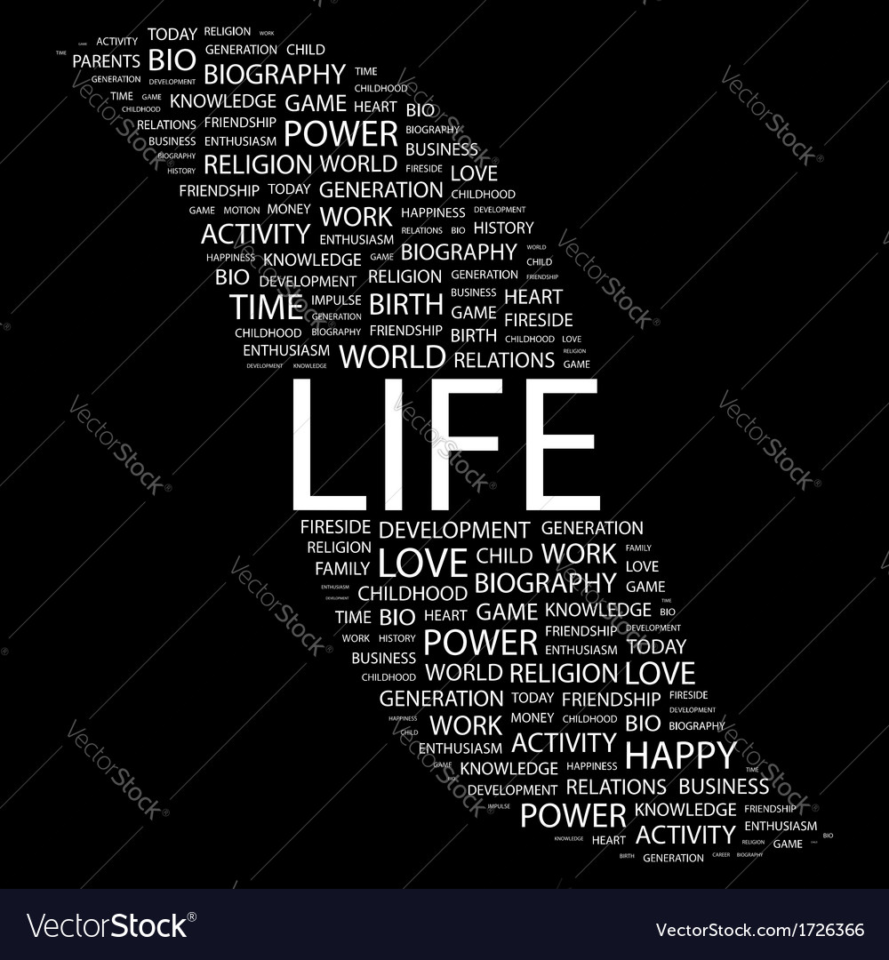 Life vector | Price: 1 Credit (USD $1)