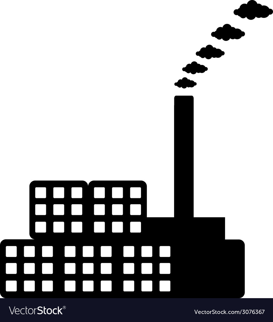 Factory icon vector | Price: 1 Credit (USD $1)