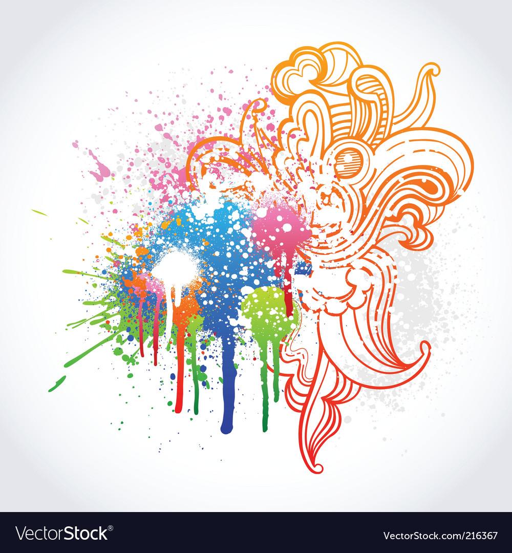 Graffiti sketch vector | Price: 1 Credit (USD $1)