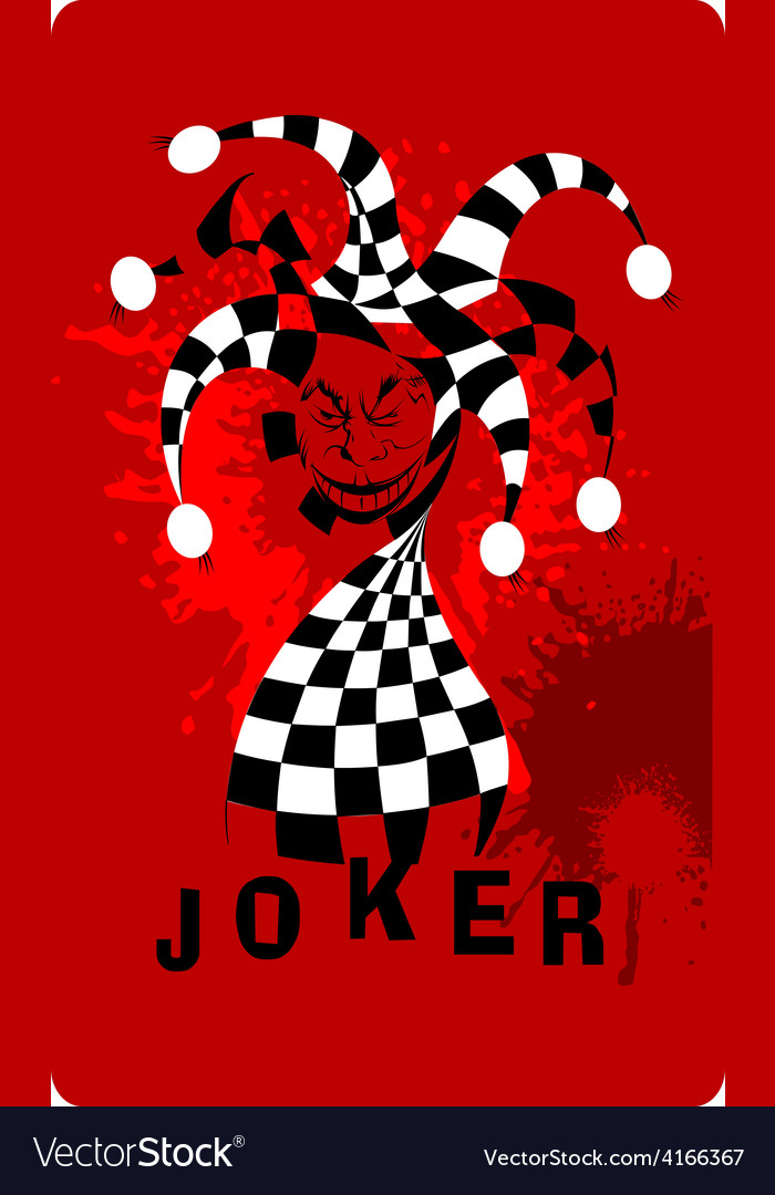 Joker cartoon vector | Price: 1 Credit (USD $1)