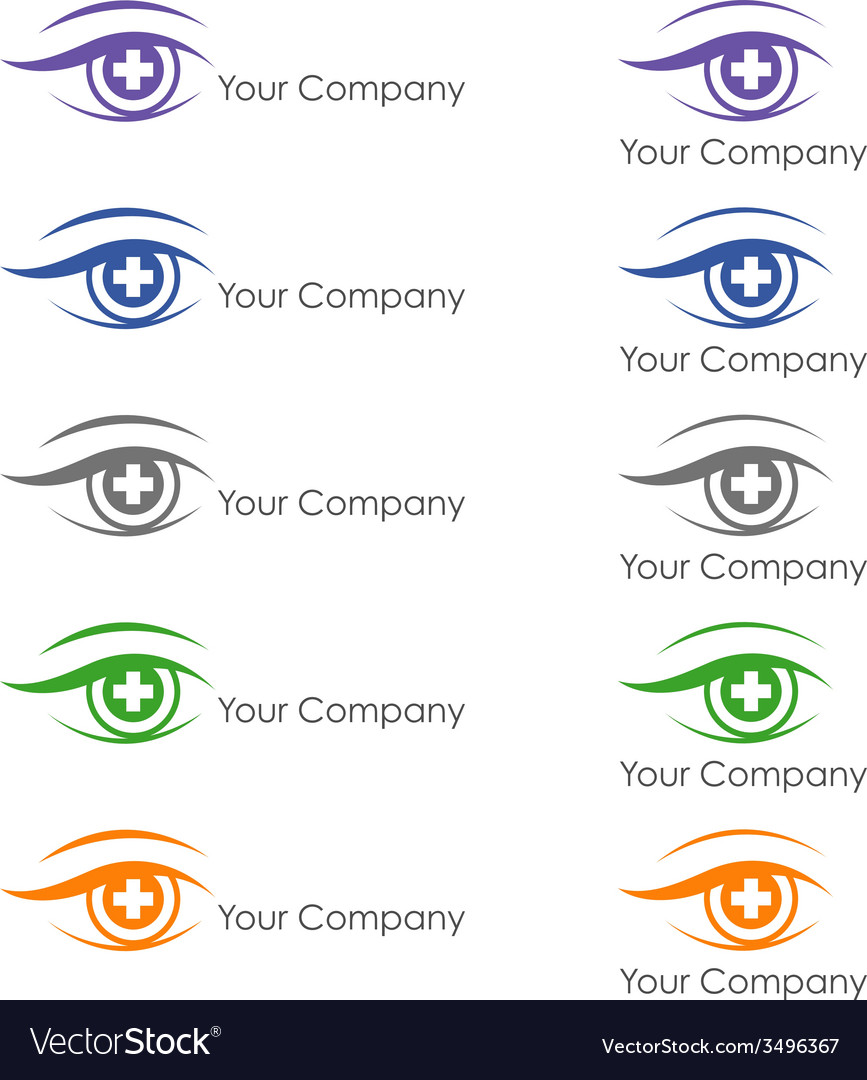 Ophthalmologist logo vector | Price: 1 Credit (USD $1)