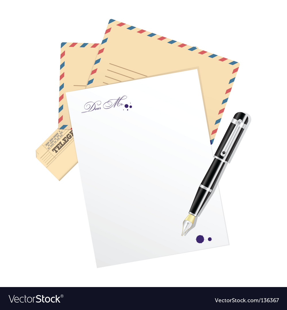 Paper for message vector | Price: 1 Credit (USD $1)