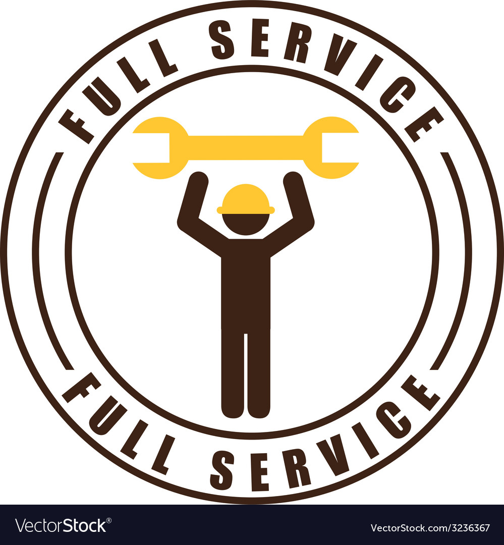 Repair service design vector | Price: 1 Credit (USD $1)