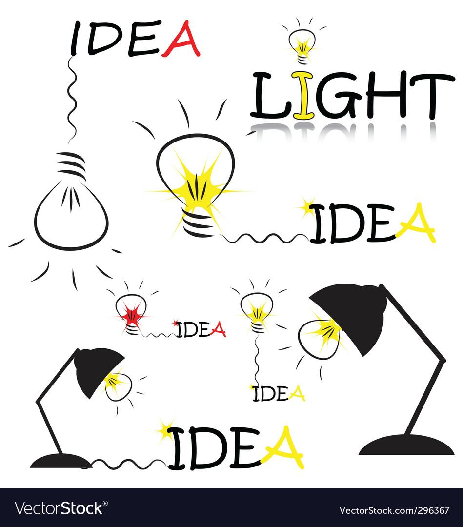 Set idea vector | Price: 1 Credit (USD $1)