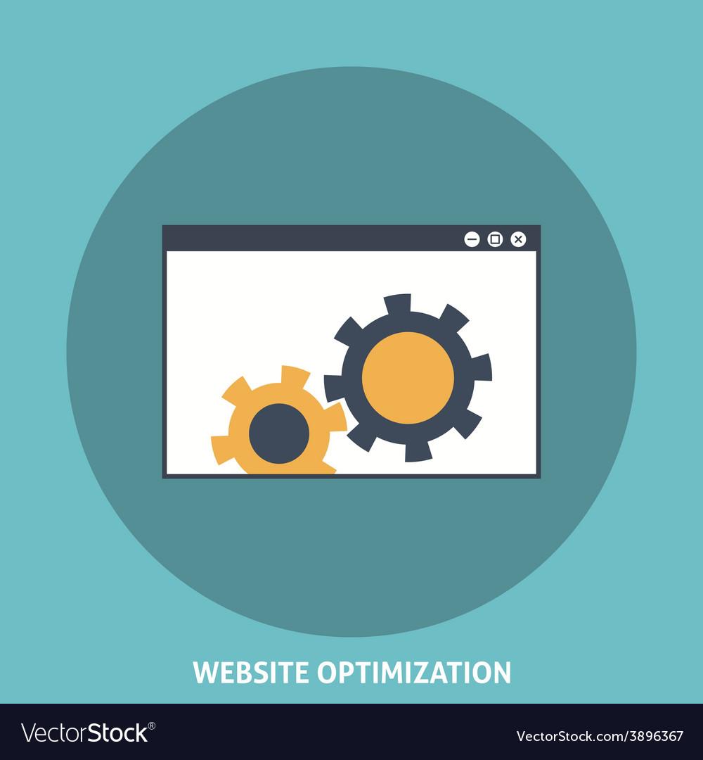 Website optimization vector   Price: 1 Credit (USD $1)