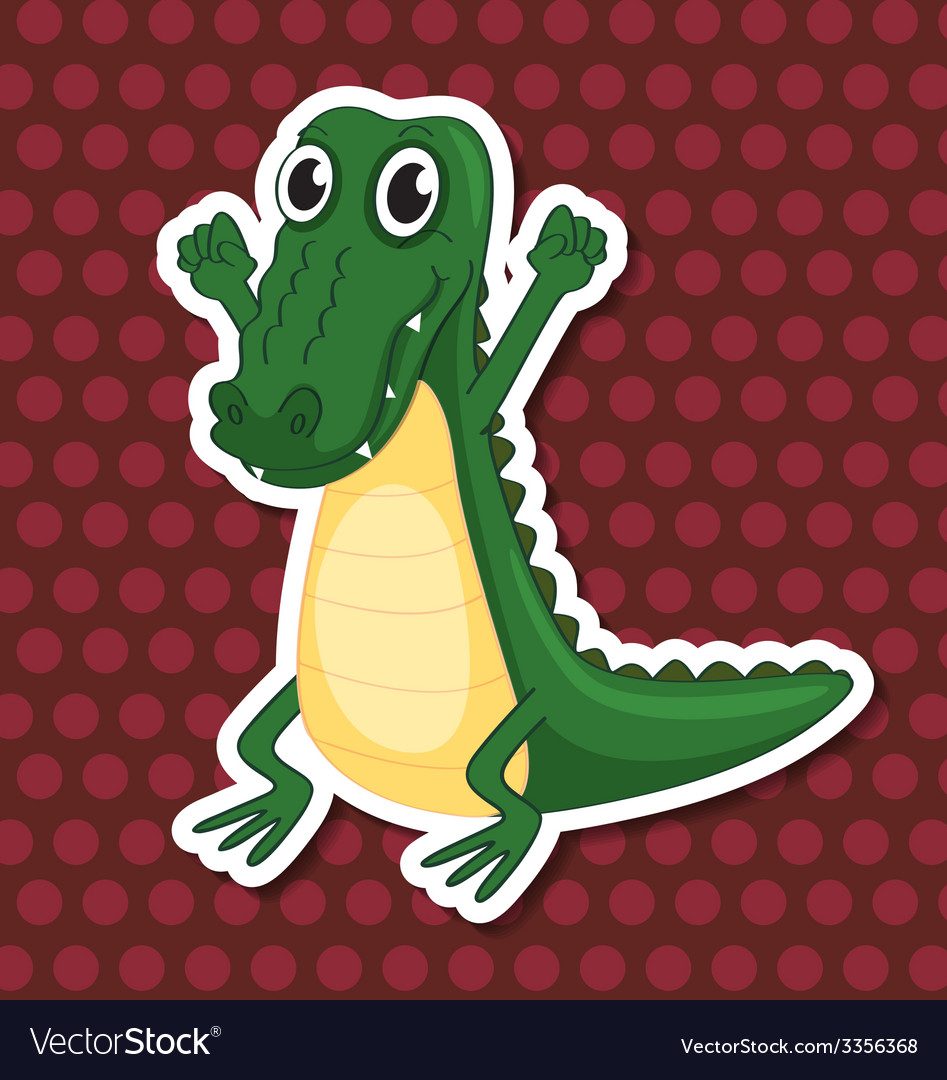 A toy crocodile vector | Price: 3 Credit (USD $3)