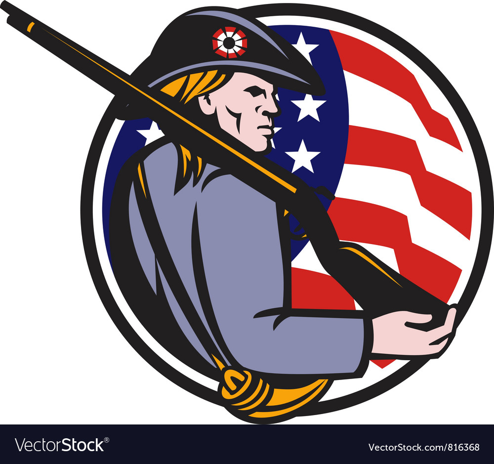 American patriot vector | Price: 1 Credit (USD $1)