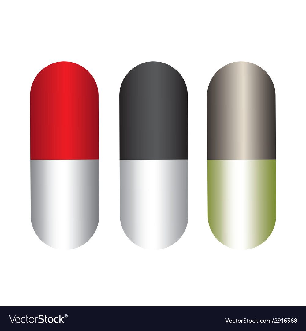 Capsules design vector | Price: 1 Credit (USD $1)