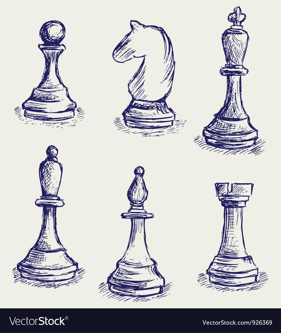 Chess set vector | Price: 1 Credit (USD $1)