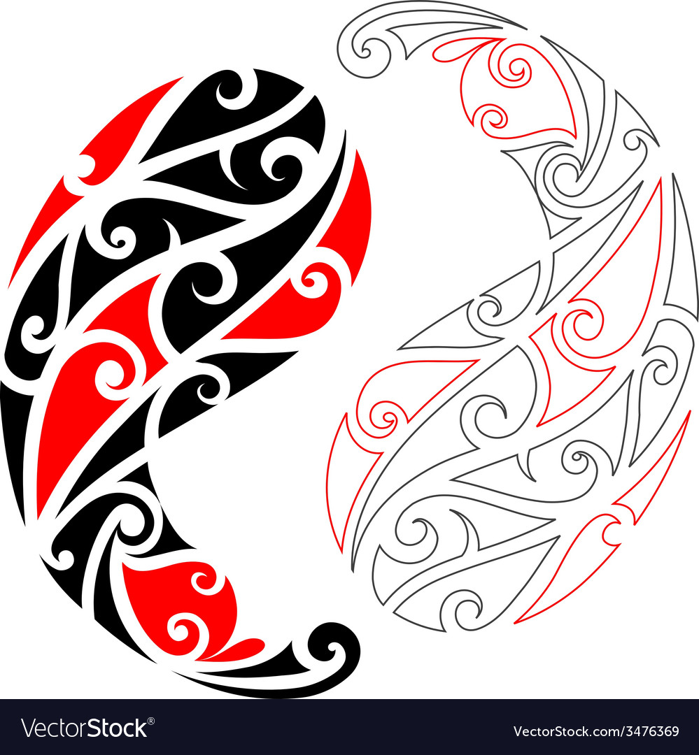 Maori tattoo vector | Price: 1 Credit (USD $1)